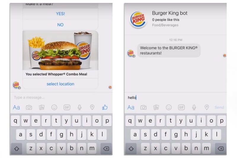 Burger King Bot
