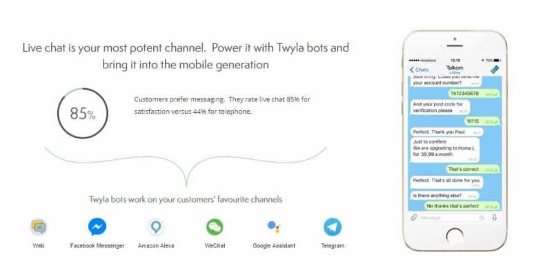 Twyla Facebook Messenger Bot